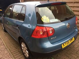 VW Golf 1.6 SE FSI in mint condition scratch free, non smoker owner from new, complete VW service