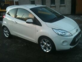 11 PLATE FORD KA 1.2 TITANUIM 54500MILES IN WHITE £3975