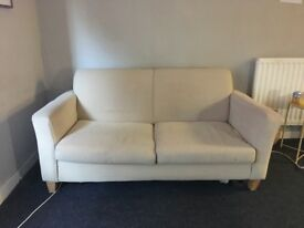 Double sofa bed/sofa used condition