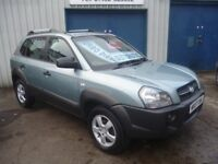 Hyundai Tucson CRTD Auto,1995 cc 2WD 5 dr hatchback,FSH,new cam belt,clean tidy Jeep,runs very well