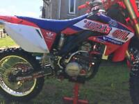 Crf 250 twin pipe
