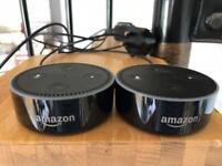 Amazon echo mini x2