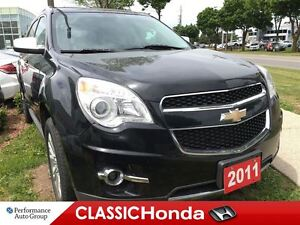2011 Chevrolet Equinox LTZ AWD V6 LEATHER CLEAN CARPROOF BACKUP