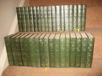 34 hardback Charles Dickens books, centennial edition from Heron books.