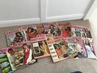 Collection of vintage woman's weekly