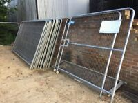 Fence panels and gates