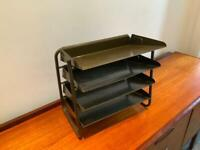 Vintage desk storage tray.