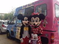 ICE CREAM VAN HIRE 4 EVENTS-SCHOOL-FETES-WEDDINGS-BIRTHDAYS-COMMUNITY-CHARITY EVENTS ETC