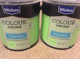 Green paint (Wickes)