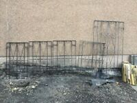 5 Wrought Iron Window Bars/Grilles or Gates