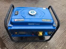 Draper petrol generator 2.5 kVa