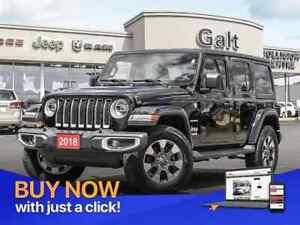 2018 Jeep All-New Wrangler JL UNLIMITED SAHARA 4X4 | BLIND SPOT