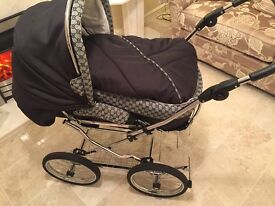 Gucci inspired Churchill Pram immaculate condition