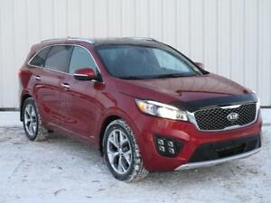 2016 Kia Sorento 3.3L SX+ AWD - Leather heated seats - Fully...