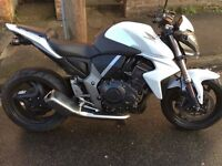 2010 White Honda CB1000R Excellent condition Low mileage Tail tidy and very reliable.
