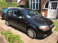 Chevrolet Kalos 1.2 ***LOW MILEAGE*** Black. A great first car clean and tidy.