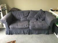 Blue sofa bed : free