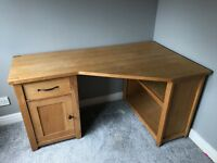 Desk. Next Cambridge solid oak