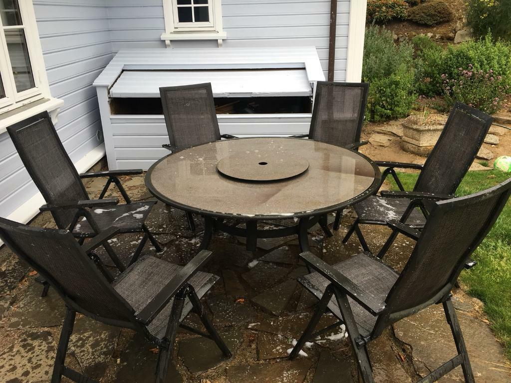 Garden table and 6 chairs   in Inverurie, Aberdeenshire ...