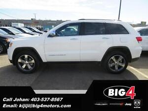 2015 Jeep Grand Cherokee Limited, Bluetooth, Heated Seats