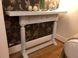 Console table sideboard white classic style