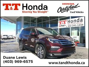 2016 Honda Pilot Touring - Remote Start, Low KM's, No Accidents