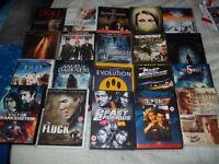 50 DVD's good condition