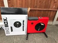 Red Bike Box with Folding Features - 100% Built Exercise - Brand New Boxed