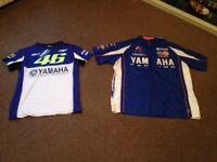 Valentino Rossi t shirt and Yamaha shirt