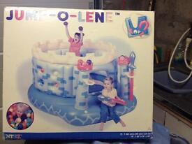 Jump-o-lene inflatable for kids, bargain