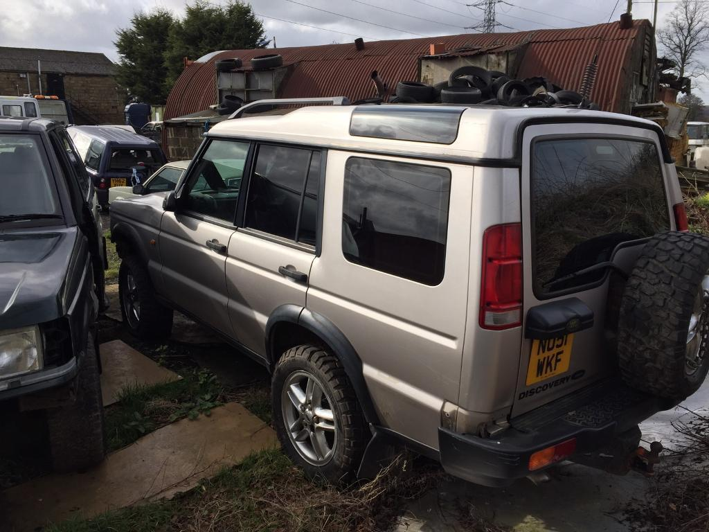 Land rover discovery td5 rear door