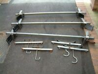 Rhino Roof Bars and Ladder Clamps