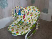 Mothercare Owls 2 in 1 Rocker and Bouncer