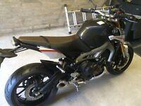Yamaha street rally motorbike