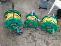 Hozelock reels and hose