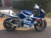 SUZUKI GSXR 600 K3 BLUE (2003 - 53 PLATE)