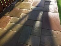 Natural #SOLD# Paving Lakeland Sandstone Flagstones 12.5sqm