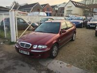 Rover 45 1.4 Spirit S 5dr ** ONLY DONE 62K MILES ** 1 LADY OWNER LAST 1O YEARS **