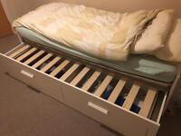 Ikea Hemnes Single/Double Day Bed