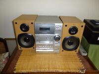 Sony Micro Hifi Component System CD/tape/radio