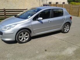 Peugeot 307 S Hdi 1.6 diesel.2007,MOT May 2019 Lovely condition.
