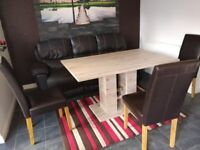 Helena Dining Table and Chairs