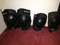 motorcycle, knee and elbow armour. one set. Other sports as well