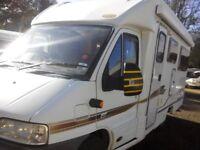 mobile home peugeot boxer 2 berth