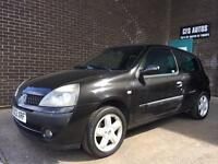 2003 RENAULT CLIO DYNAMIQUE BILLABONG RARE 1.1 VERSION OCTOBER 2017 MOT RUNNING SPARES OR REPAIRS!!