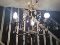 Chandelier lamp good condition x 2 £15 each.