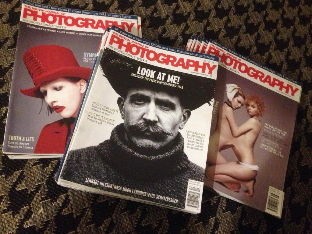 British Journal Of Photography (BJP) Magazines | in Larkhall