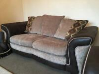 DFS Sofas 2 & 3 seater (with Chaise)