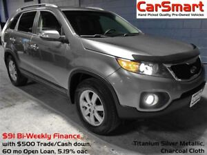 2012 Kia Sorento LX, 1 Owner, No Accidents, Bluetooth, Park Assi