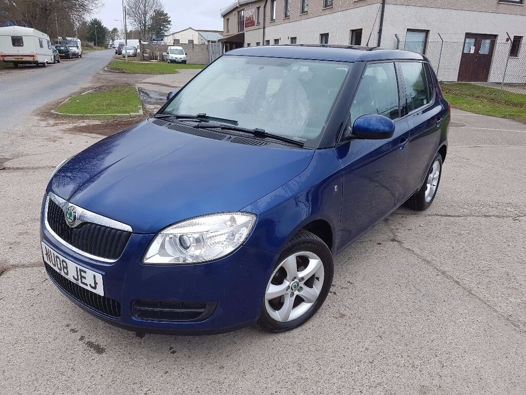skoda fabia 2008 7mot in inverness highland gumtree. Black Bedroom Furniture Sets. Home Design Ideas